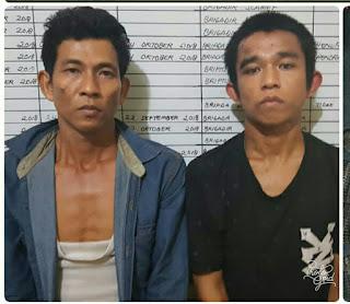 Hermansyah Dan RM Dani Pengedar Shabu Digrebek SatRes Narkoba OI