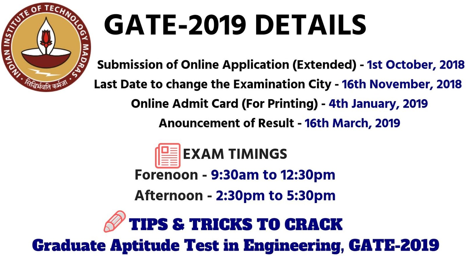 aptitude test results 2019