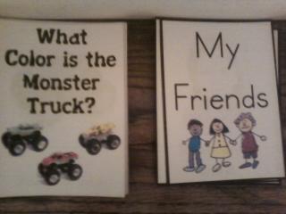 Sonshine Tot School: PreK: M is for Monster Trucks  Gideon
