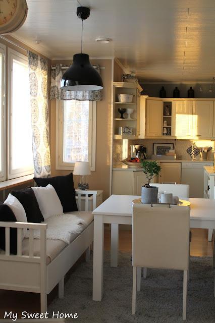 My sweet home Keittiön uusi lamppu