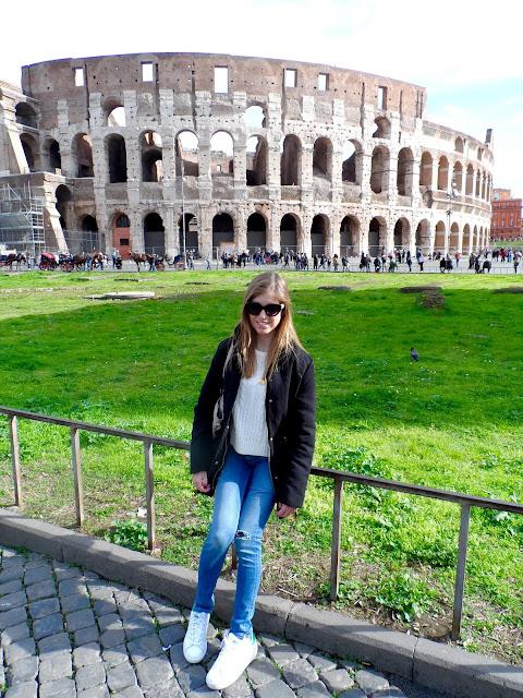 Blonde in Rome