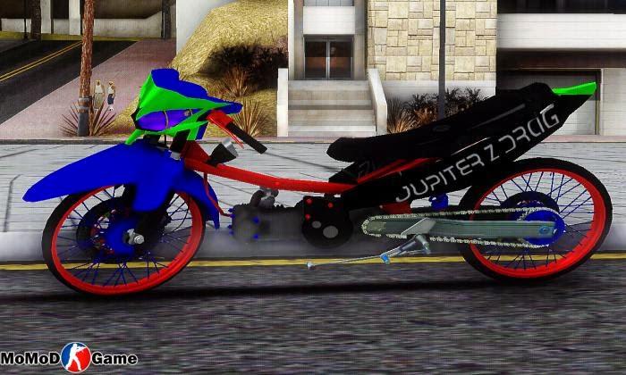 Yamaha Jupiter Z Drag Mod GTA SA