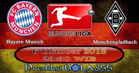 Prediksi Bola855 Bayern Munich vs B. Monchengladbach 6 Oktober 2018