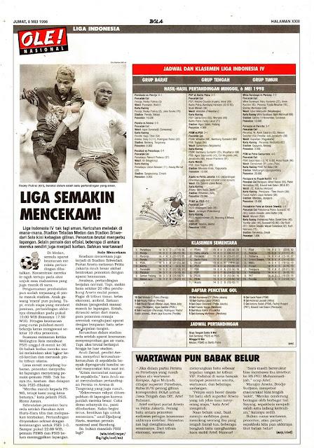 LIGA INDONESIA V SEMAKIN MENCEKAM