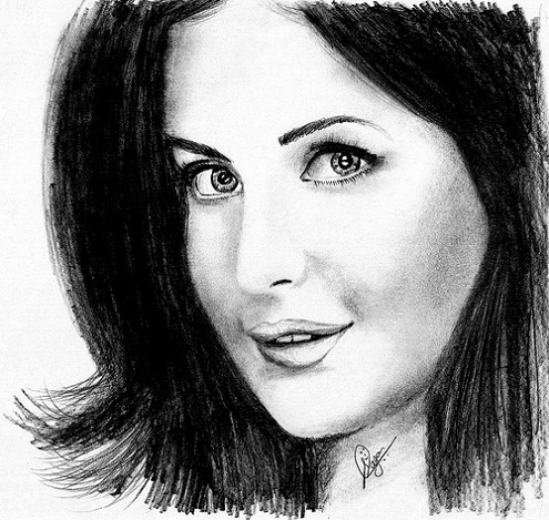 Here is the few katrina kaif pencil sketches hot katrina kaif pencil drawling photos looks awesome its a drawing art by artists