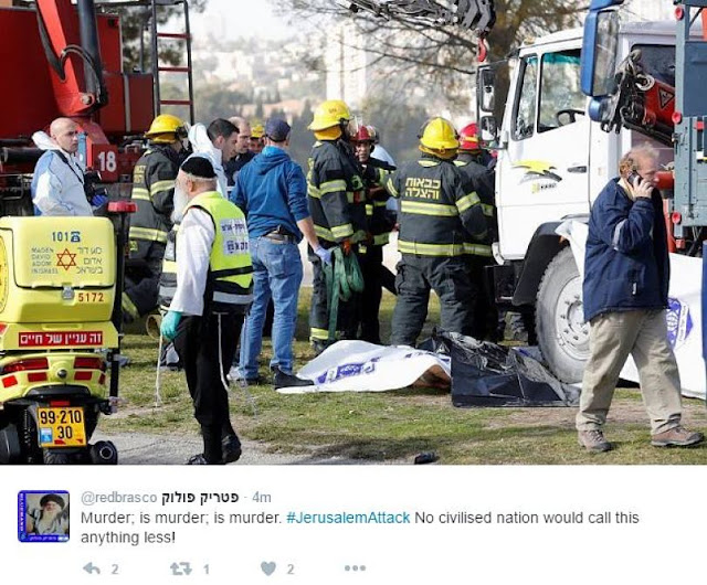 NEWS | Netanyahu: Jerusalem Truck Attack is ISIS Inspired