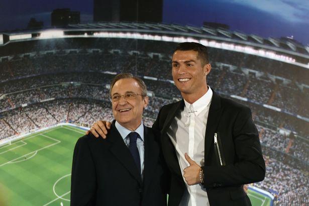 Flo Perez hét giá bán Ronaldo bằng ....... vàng ròng