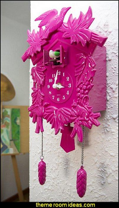 Pinkerton Cuckoo Wall Clock  wall decorations - wall art prints - wall stencils - wall murals - wall decals - wall decor - Lighted Letters - wall letters - Storage wall shelves - Marquee Lights - wall lights - picture frames - mirrors - decorative accents  ceramic wall decor - cardboard wall mounts - Stuffed Animal Trophy Head wall decorations -