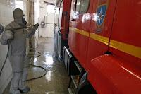 (ФОТО)подразделениях регулярно проводится влажная уборка, дезинфекция помещений и территорий