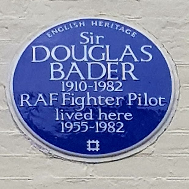 Blue Plaque for Sir Douglas Bader