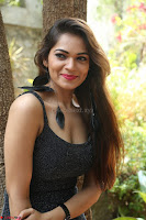 Aswini in lovely Deep Neck Sleeveless Black Dress Spicy Pics ~  Exclusive 07.JPG