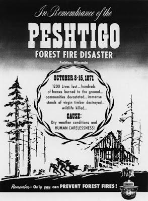Prevención de incendios forestales conmemorando la tragedia de Peshtigo