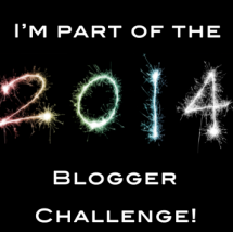 The 2014 Blogger Challenge...Yup I Said 2014!