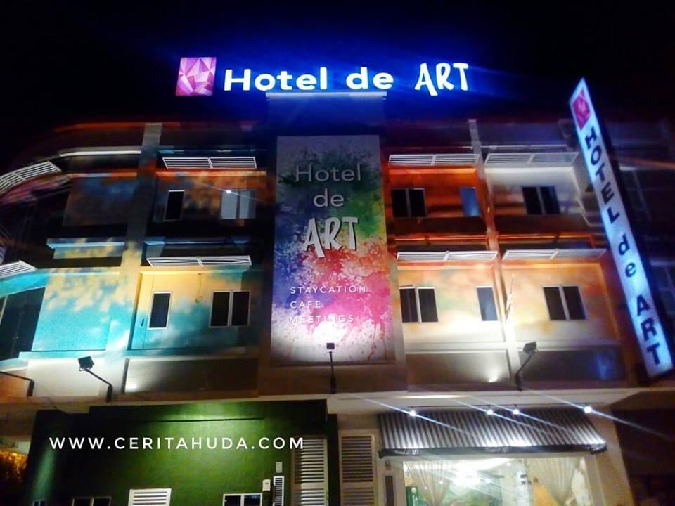 Pengalaman Bercuti di Hotel De Art I-City, Shah Alam
