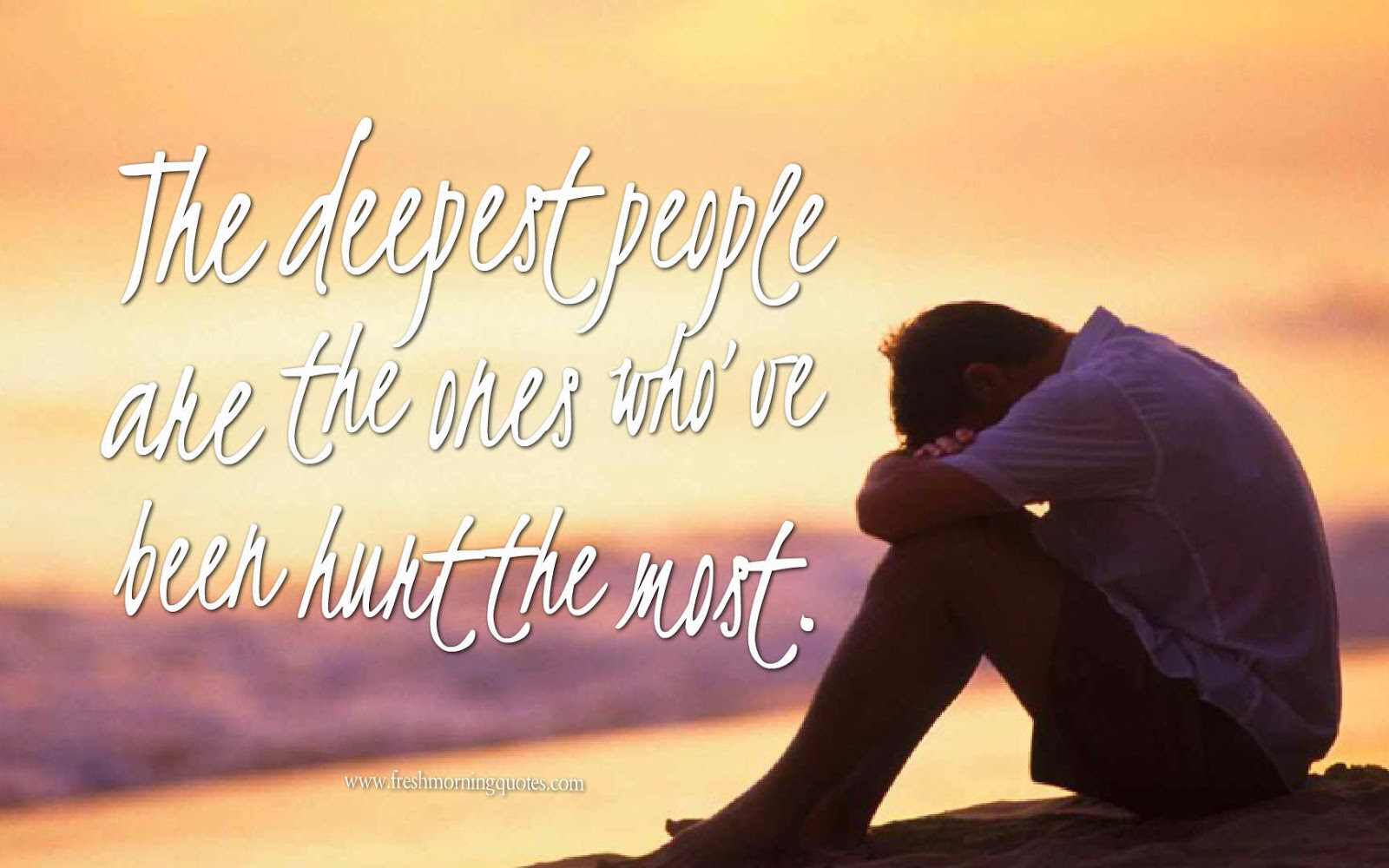 the deepest people love hurts quotes