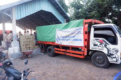 Bulog Divre NTB Salurkan CSR Bantu Korban Gempa