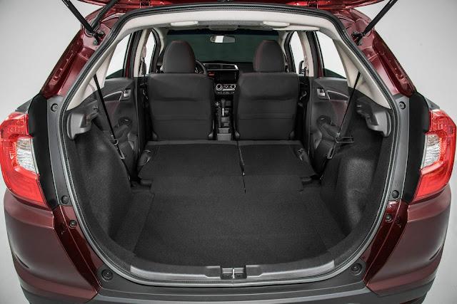 Honda WR-V 2017 - porta-malas
