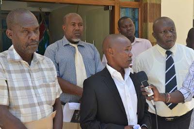 Ganze Mp Teddy Mwambire with Kilifi North MP Owen Baya. PHOTO | FILE