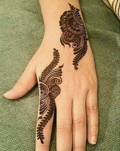 Mehndi Design Arabic Simple Tattoos Ideas