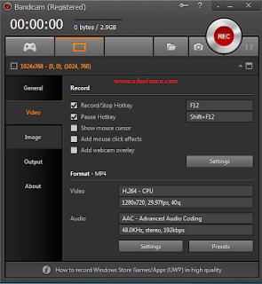 Cara Setting Bandicam Untuk Adobe Premiere