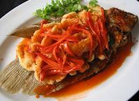 Aneka Kuliner Resep Ikan Kakap Asam Manis Spesial