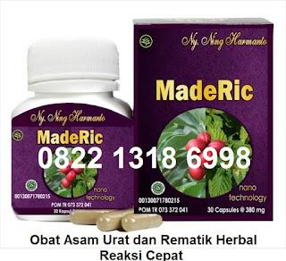 Obat  Herbal Tradisonal Asam Urat-Rematik Maderic asli Alami