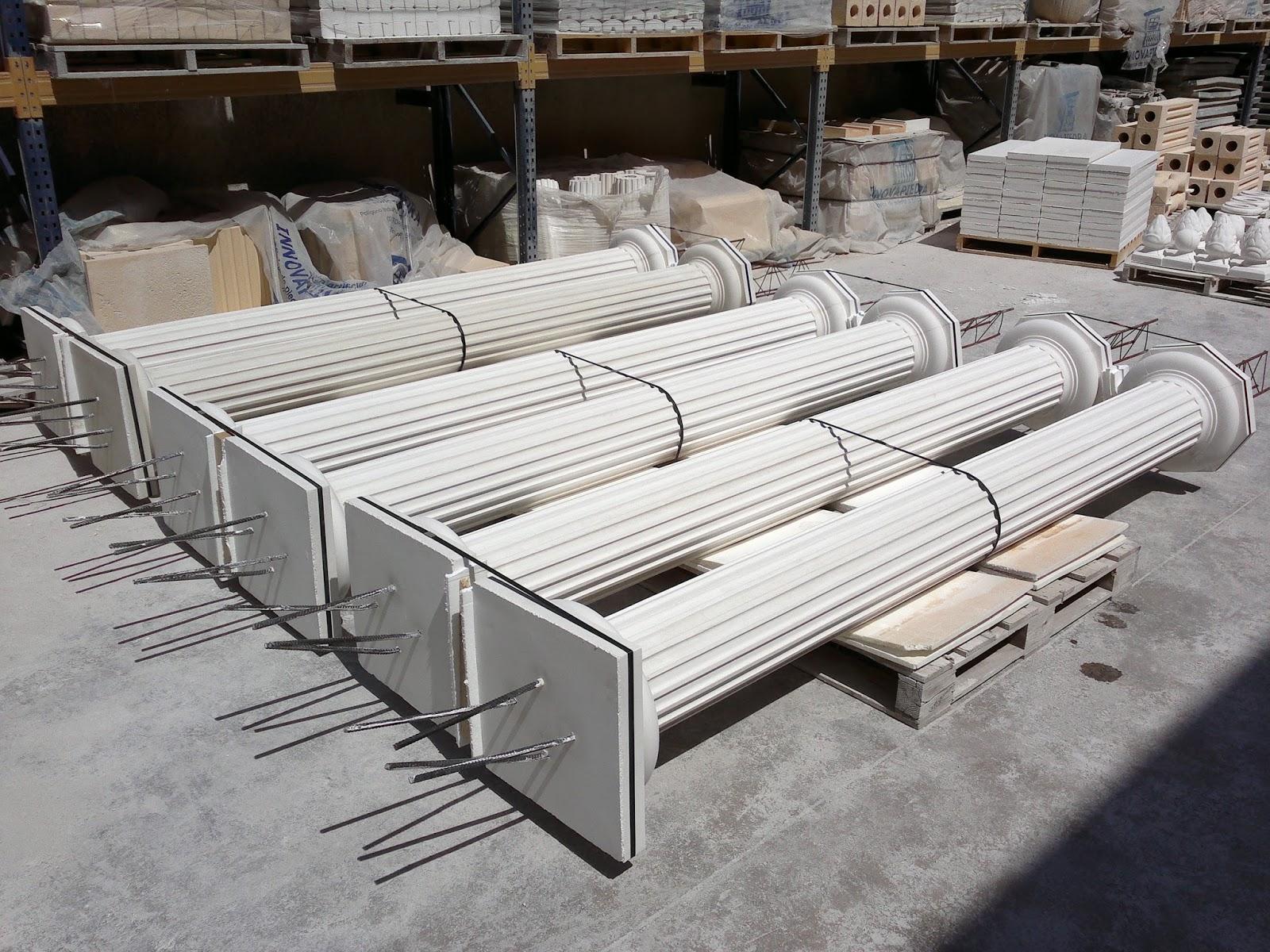 Columnas de hormig n innovapiedra - Prefabricadas de hormigon ...