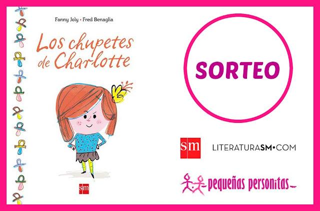 sorteo, los chupetes de Charlotte, libros, libros infantiles, literatura, literatura infantil, dejar el chupete
