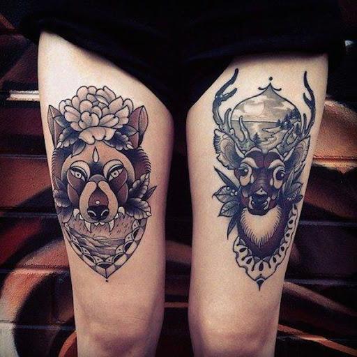 O lobo e o veado