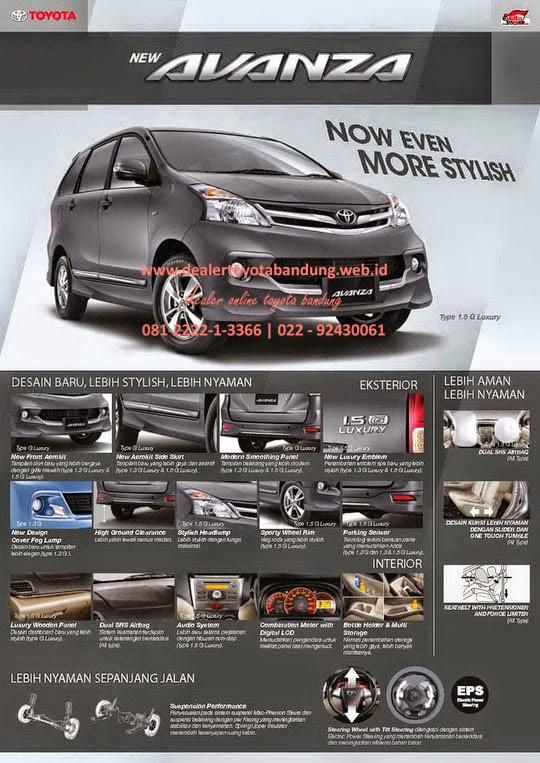 Grand New Avanza Veloz Luxury Warna Merah Dealer Toyota Info Harga Promo Dan Paket Lebaran All Bandung Subang Cimahi Rancaekek Garut Tasikmalaya 2014