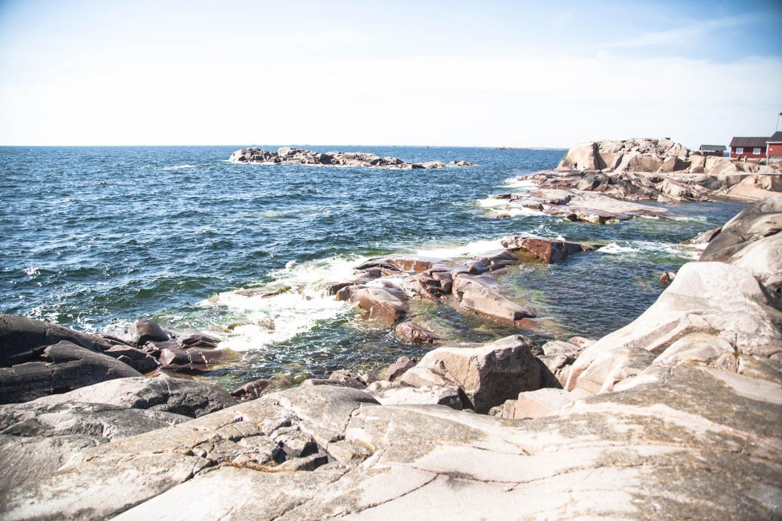 bengtskär kallio majakka meri