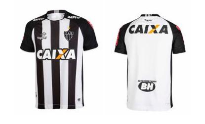01974e2ffb Topper apresenta nova camisa do Atlético-MG - Jornal Magazine
