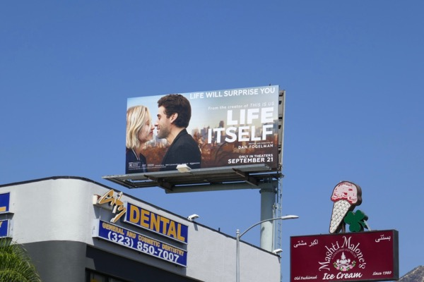 Life Itself film billboard