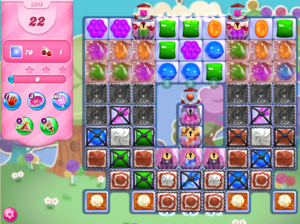 Candy Crush Saga level 3398