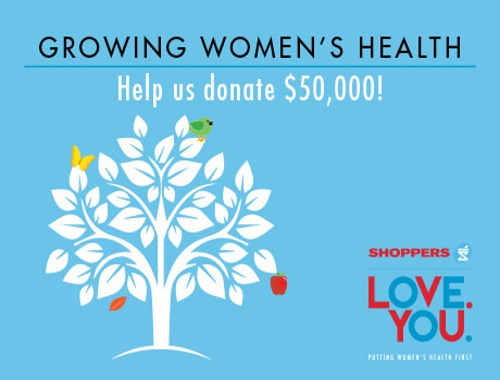 Shoppers Drug Mart Growing Women's Health Donate & Win Contest