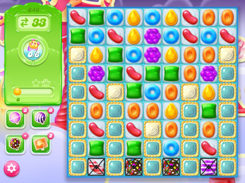 Candy Crush Jelly Saga level 646