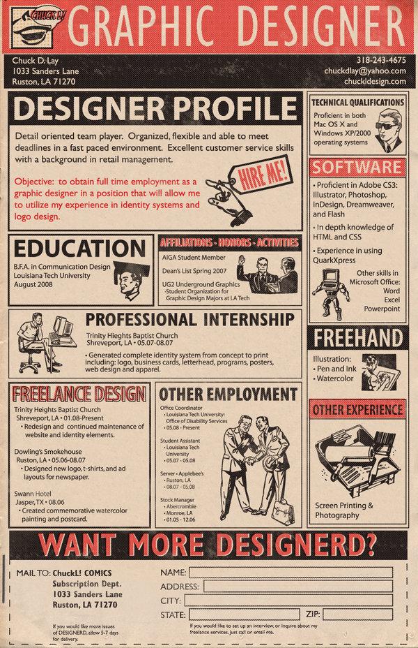 curriculum vitae  esempi di curriculum creativi trovati su pinterest  per grafico  designer