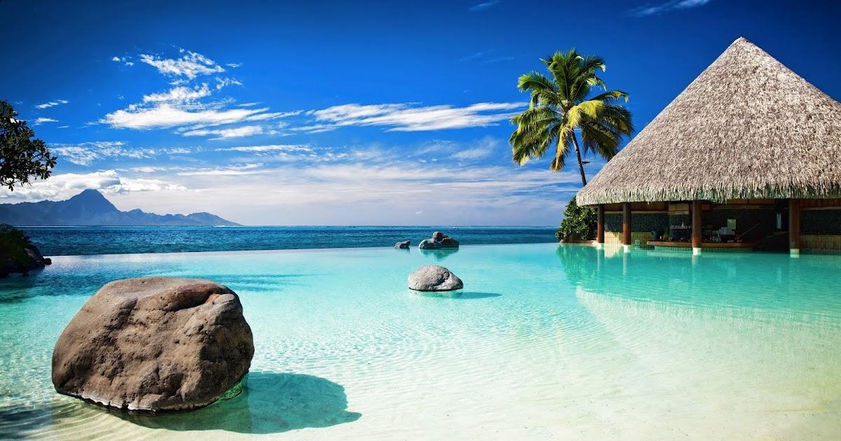 Custom 3d Photo Wallpaper Hd Maldives Sea Beach Natural: IMAGENES DEL AGUA EN LA NATURALEZA: IMAGEN DE PLAYA