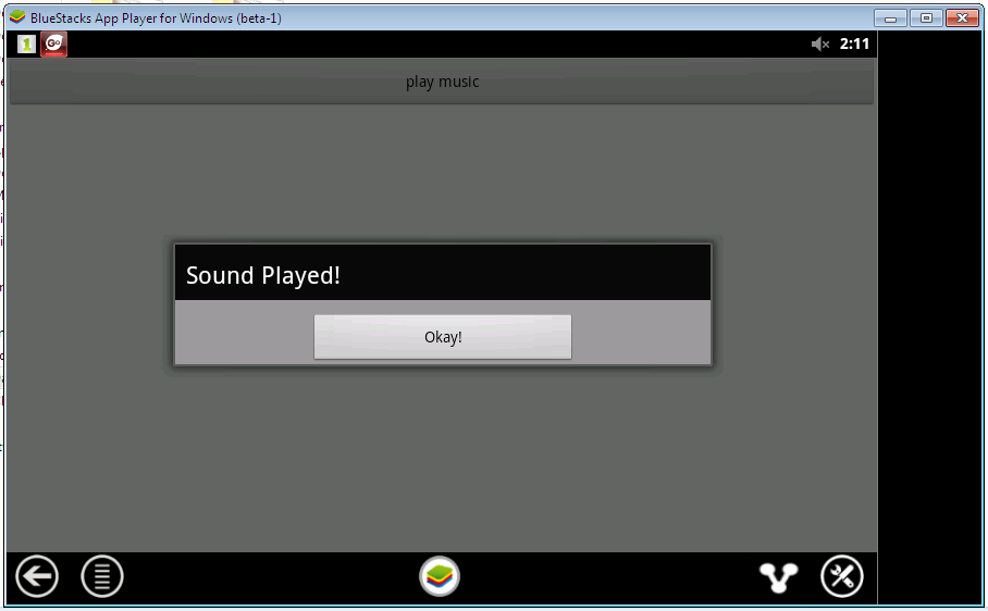 Alertdialog Media Player, Start, Stop(How to set MediaPlayer volume