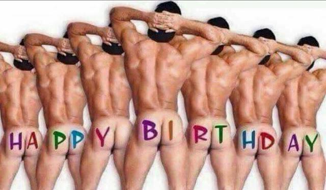Ảnh mừng sinh nhật tuy hơi bựa nhưng gửi tặng thằng bạn thân thì vui lắm đấy
