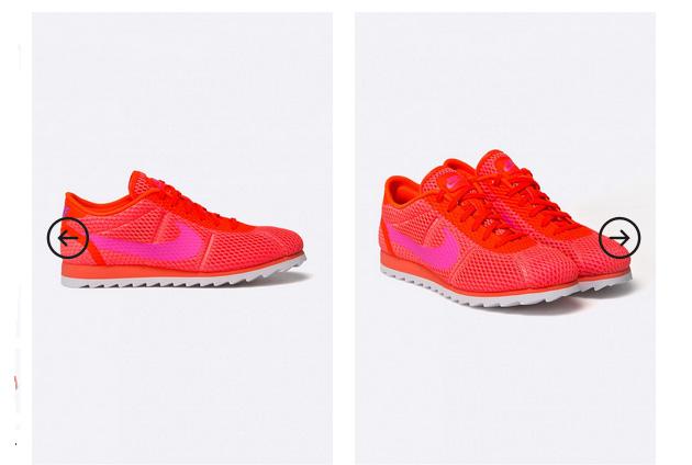 Adidasi de femei Nike Sportswear rosii originali