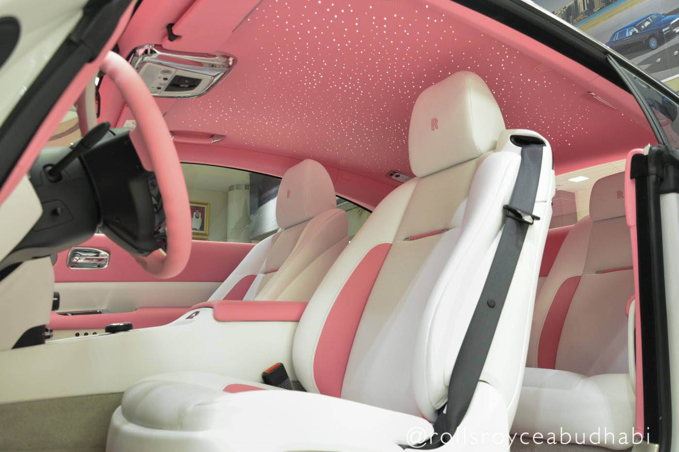 Barbie S Rolls Royce Wraith Awaits In Abu Dhabi Carscoops