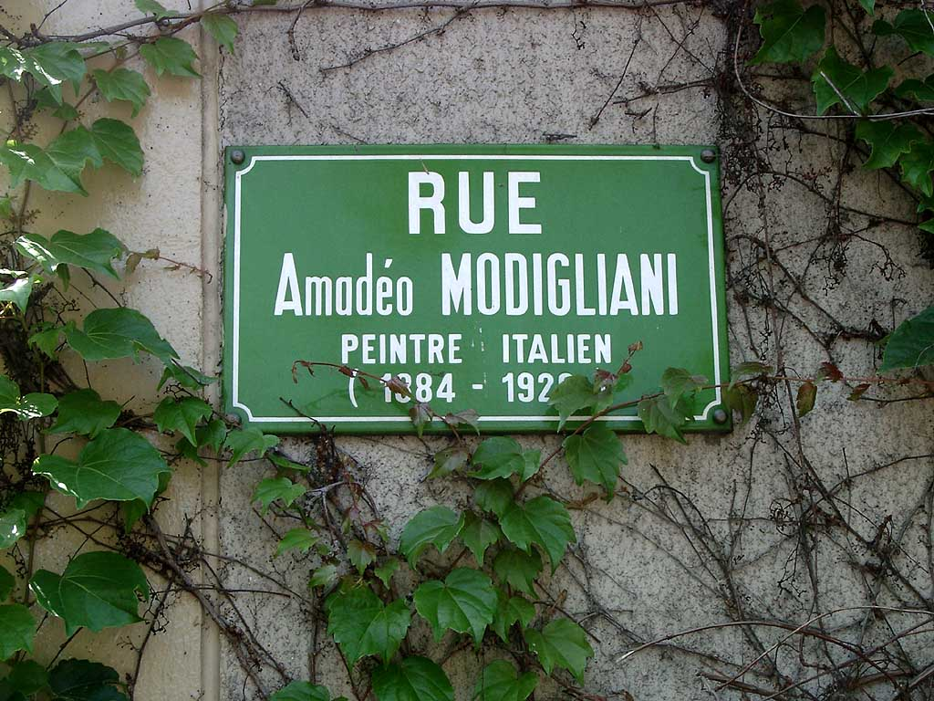 Rue Modigliani, 15e arrondissement, Paris