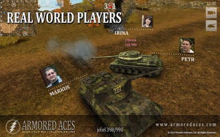 Armored Aces 3D Tanks Online-1