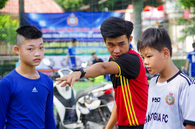 Học bóng đá cho thiếu nhi quận Tân Bình TPHCM