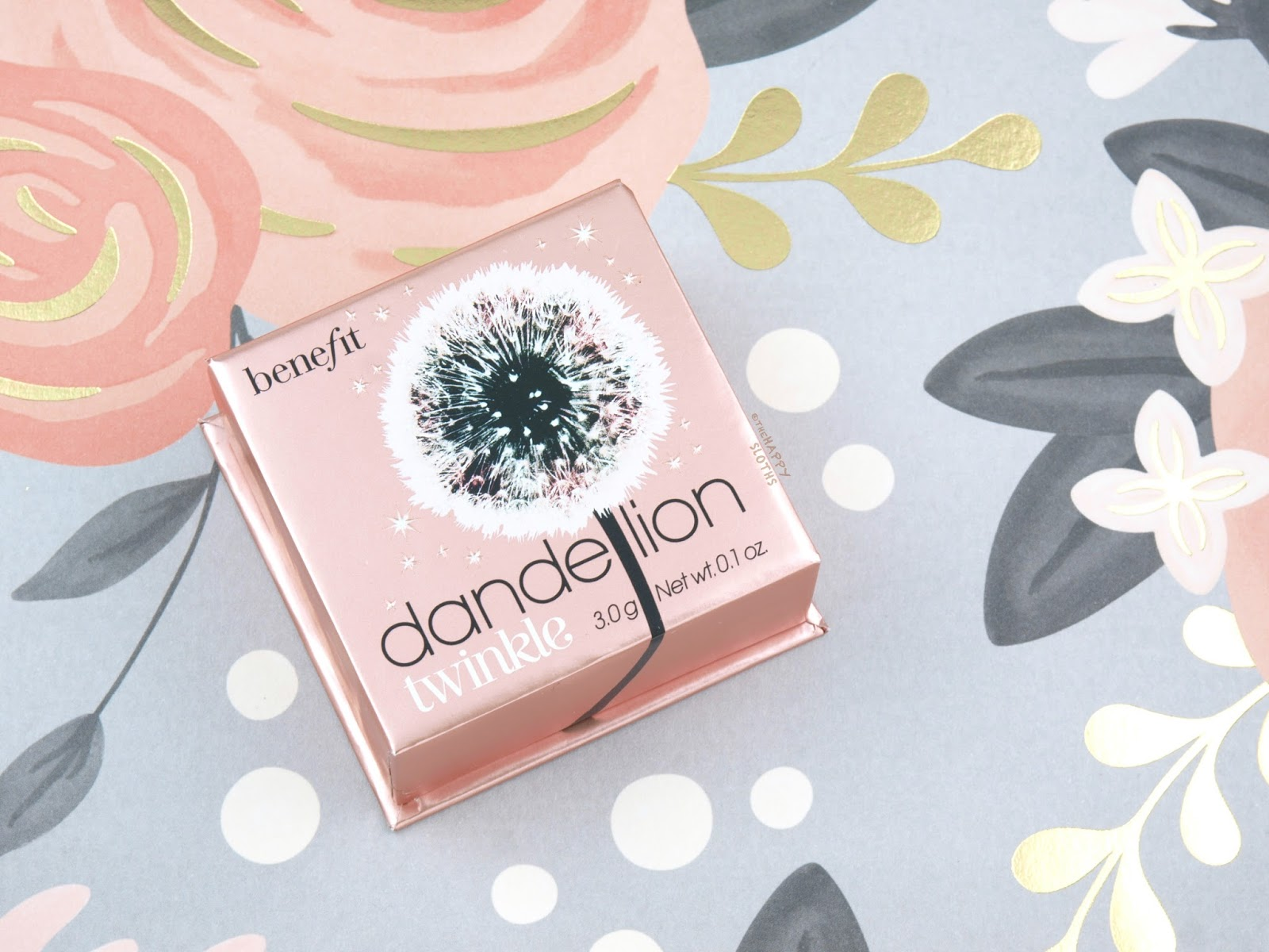Benefit Dandelion Twinkle Highlighter: Review and Swatches