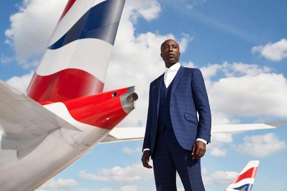 Ghanaian-British Ozwald Boateng to design new British Airways Uniforms
