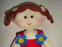 Cara Membuat Boneka Lucu dari Kain Flanel Beserta Gambarnya