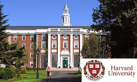 harvard university, universitas di luar negeri
