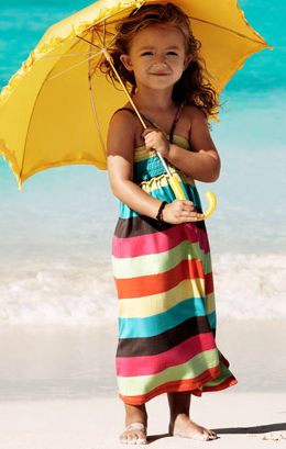 vestidos niña verano 2011